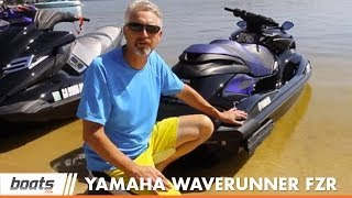 11. 2014 Yamaha WaveRunner FZR PWC First Look
