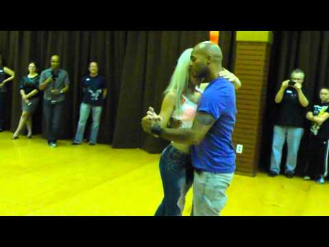 Kizomba - Sara Lopez and Albir Rojas dance KizombaTango At D'Amico Dance Studio. Video by Wayne Brodd. July 26, 2012. www.damicodance.com The song is Magico by: Mika M...