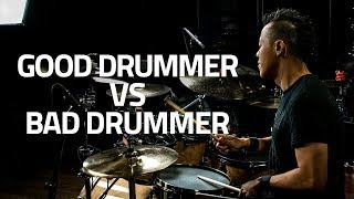 Video How To Tell A Good Drummer From A Bad Drummer MP3, 3GP, MP4, WEBM, AVI, FLV Mei 2018