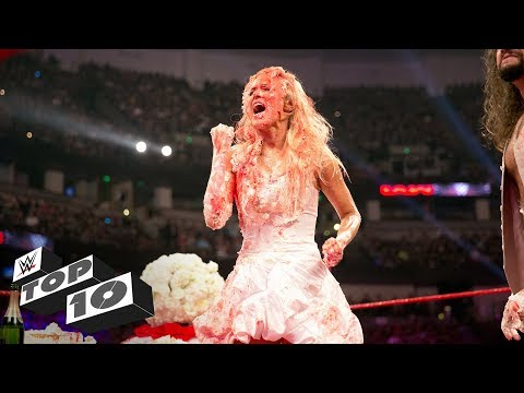 Wildest wedding moments: WWE Top 10, May 19, 2018 (видео)