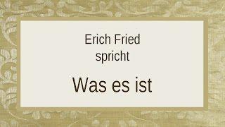 """Rezitation: Erich Fried von der CD - """"Erich Fried – Verstandsaufnahme"""" Klaus Wagenbach Verlag ISBN: 978-3-8031-4032-3..."""