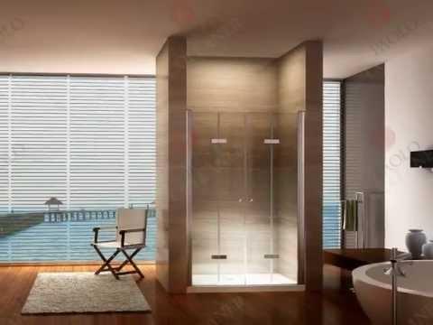 Duschwand, Falttür, Duschabtrennung, Duschtür, Pendeltür von i-flair