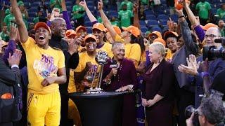 Los Angeles Sparks Trophy Presentation   2016 WNBA Finals by WNBA
