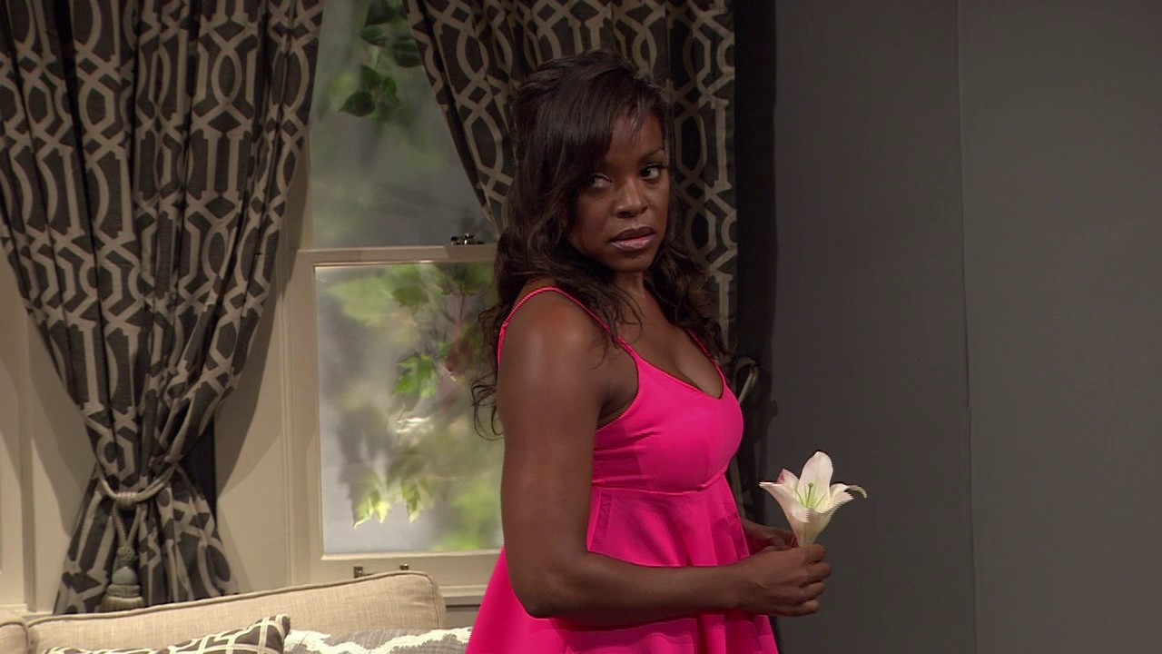 """Treat her right in David E. Talbert's Play or 'Another Man Will' [Clip] starring Nadine Ellis & Thomas """"Nephew Tommy"""" Miles"""