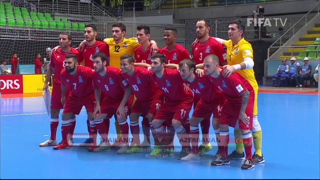 Match 44: Thailand v Azerbaijan – FIFA Futsal World Cup 2016