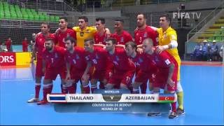 Video Match 44: Thailand v Azerbaijan - FIFA Futsal World Cup 2016 MP3, 3GP, MP4, WEBM, AVI, FLV Mei 2017