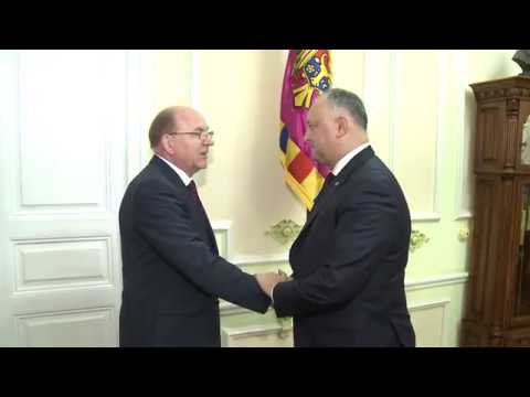 President of Moldova met with Russian Ambassador