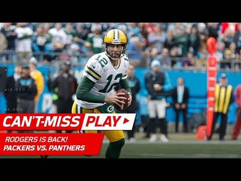 Video: Aaron Rodgers Leads First TD Drive Since Returning from Injury! | Can't-Miss Play | NFL Wk 15