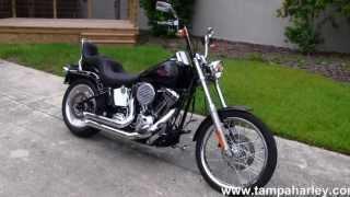 10. 2007 Harley-Davidson FXSTC Softail Custom