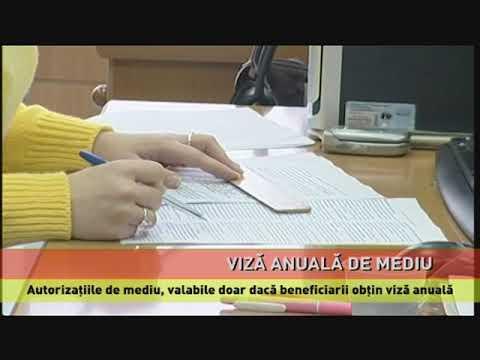 Autorizațiile de mediu, valabile cu viză anuală