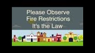 What NOT to do in Stage 2 Fire Restrictions
