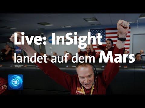 "LIVE: Mars-Landung des Roboters ""InSight"""