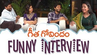 Video Geetha Govindam Team Funny Interview | Vijay Deverakonda, Rashmika Mandanna, Parasuram MP3, 3GP, MP4, WEBM, AVI, FLV Agustus 2018