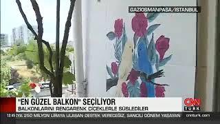 En Güzel Balkon Yarışması - Cnn Türk