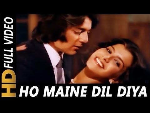 Ho Maine Dil Diya   Lata Mangeshkar, Kishore Kumar   Zameen Aasmaan Songs   Sanjay Dutt