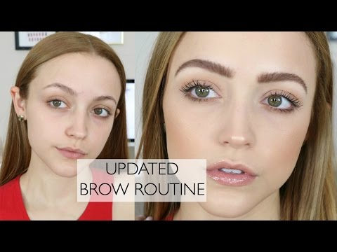 How To: FEATHERY BROWS | My Brow Routine & My Favorite Products (видео)