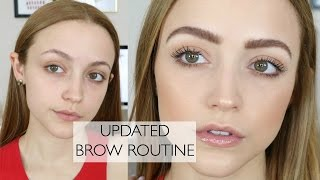 How To: FEATHERY BROWS | My Brow Routine & My Favorite Products