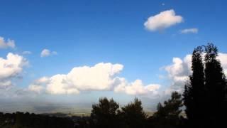 Hatzor Haglilit Israel  city photos gallery : Clouds over Hatzor HaGlilit - Canon 600D