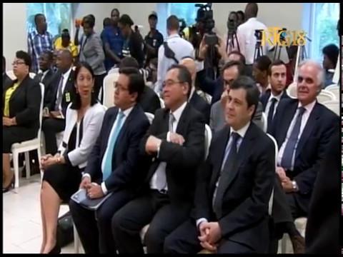 Le Président Jovenel Moïse a récu les membres du Conseil économique et social des Nations Unies