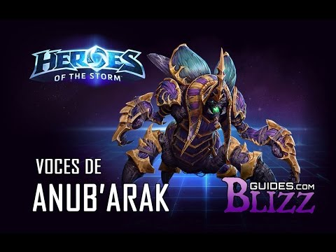 Heroes of the Storm - Voces de Anub'Arak - Guerrero Warcraft