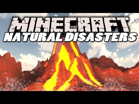 mods - The Natural Disasters Mod adds 4 kinds of disaster into Minecraft :D CAN WE GET 300 LIKES? :D ▻ SUBSCRIBE to become a Wippling :: http://bit.ly/1imFwt4 ▻ Che...