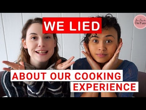 We LIED About Our Cooking Experience | APOP