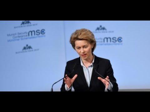 München: Ursula von der Leyen eröffnet Sicherheitskon ...