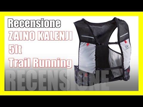 Recensione Zaino Kalenji 5lt