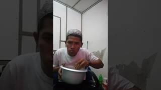 Arjunone Kutho Makan Malam Lalap Godong Jati...😄😄😄