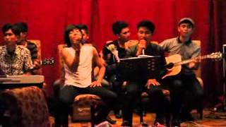 Fajar BIROE feat UDARA band Palembang   Di Ujung Jalan Samson momen Valentine Day at Hotel Swissbeli