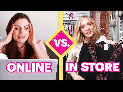 Online Vs. Real Life Shopping Challenge: Thrift Stores