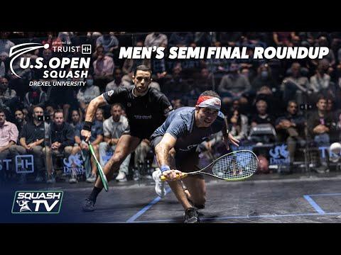 Squash: U.S. Open 2021 - Men's Semi Final Roundup