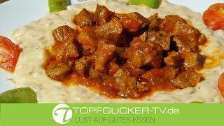 Hünkar Begendi | Lammfleisch Ragout mit Auberginen - Käse - Soße | Bechamel Sauce