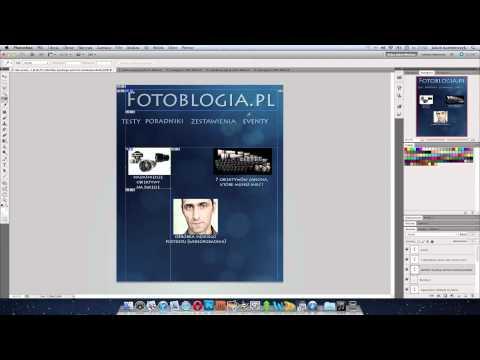 Narzędzie cięcie na plasterki w Photoshopie - poradnik wideo