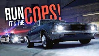 RUN It's The COPS!!