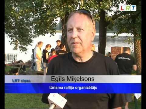 """Tūrisma rallijs """"Piedzīvojums Latgalē 2011 Latgales reģionālā TV"""