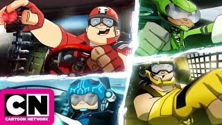 Team Hot Wheels: The Origin of Awesome! l Cartoon Network