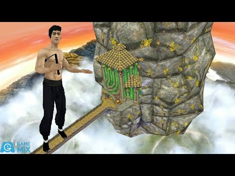 IGameMix😀TEMPLE RUN 2 Fullscreen✔️Bruce Lee Sky Summit Map*Gameplay For Kid#259