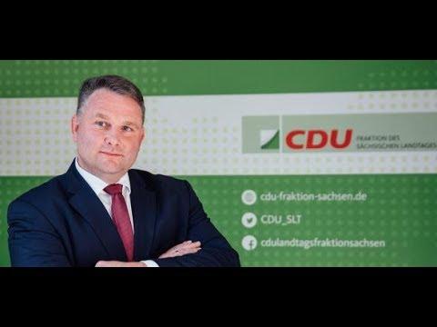 Sachsen: CDU-Fraktionschef Hartmann schließt Koalit ...