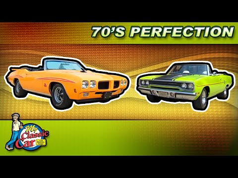 My Classic Car Season 16 Episode 8 – 70's Muscle Cars