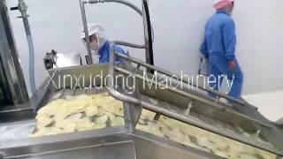 automatic potato chips production line potato chips making machine potato chips processing line