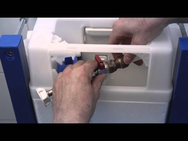 Instruktionsfilm om montering av triomont fixtur samt vägghängd toalett SWE