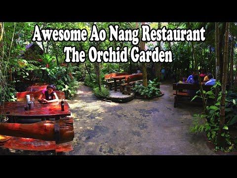 Ao Nang Restaurants, Krabi, Thailand: The Orchid Garden. Authentic Thai food restaurants in Krabi