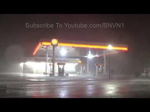Florence Intense Eye-wall Downtown Wilmington, NC - 9/14/2018