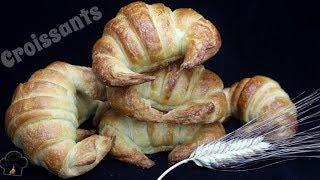 Croissants o medialunas de Mantequilla  La receta que funciona