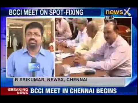 future - NewsX: The all crucial BCCI working committee meeting begins in Chennai. The fate of the tainted trio caught in Spot Fixing will be decided today. Will the t...