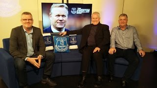 Joe Royle and Ian Snodin join presenter Darren Griffiths to look ahead to the 228th Merseyside derby. Also features Ronald Koeman, Gareth Barry, Jeff Winter,...