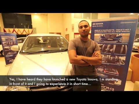 New Toyota Innova 2013 – Real People, Real Reviews – Sandeep Chauhan.