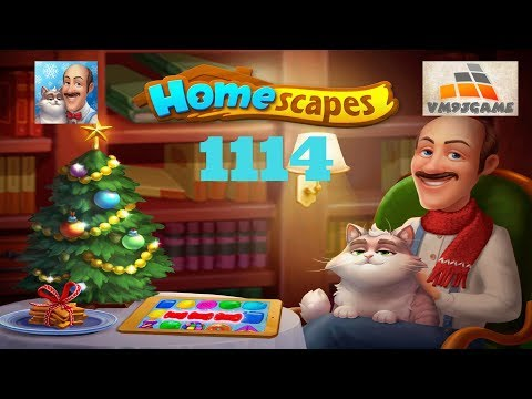 HOMESCAPES Gameplay - Level 1114 (iOS, Android)