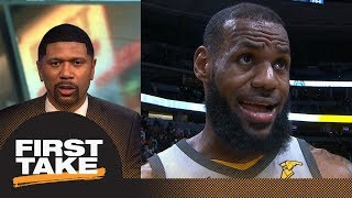 Jalen Rose on LeBron James: He's actually gotten better at basketball | First Take | ESPN